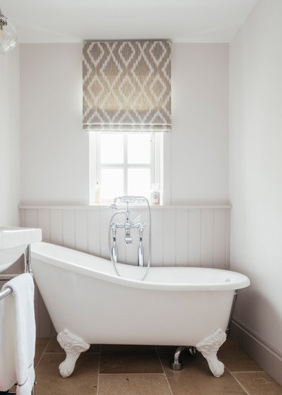 Traditional Bathroom by Tanya Leech Ltd.