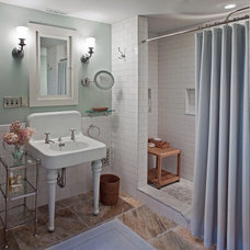 Traditional Bathroom by Giambastiani Design