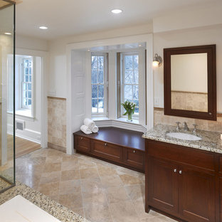 Elegant bathroom photo in Philadelphia