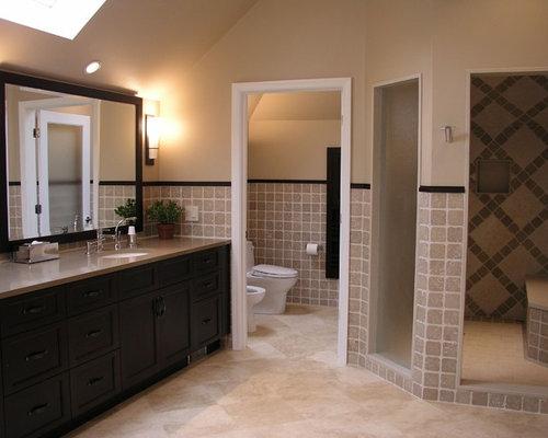 Master Bathroom Enclosed Toilet enclosed toilet   houzz