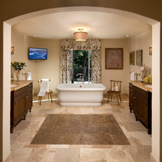 Mediterranean Bathroom by Giffin & Crane General Contractors, Inc.