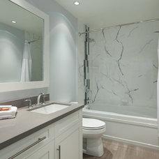 Contemporary Bathroom by Ario Construction Inc.