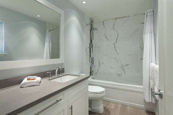 Contemporary Bathroom by Ario Construction Inc.