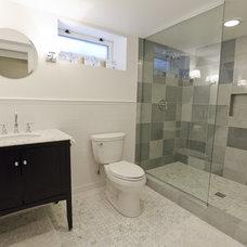 Contemporary Bathroom by Fonda Interior Design