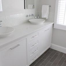 Modern Bathroom by Molly Frey Design