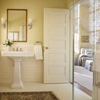 Spanish Style In Beverly Hills Traditional Bathroom