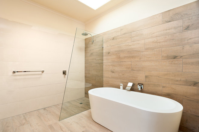 Modern Bathroom by TILE junket