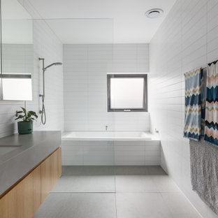 75 most popular wet room bathroom with a drop-in tub