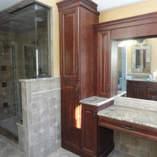 Traditional Bathroom by Design Solution Group