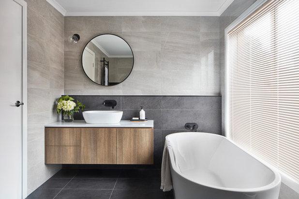 Contemporary Bathroom by Mink Homes Pty Ltd