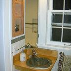 Gray White Tile Modern Bathroom Remodel Modern Bathroom Los Angeles By One Week Bath Inc