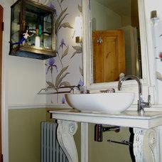 Traditional Bathroom by Slightly Quirky Ltd