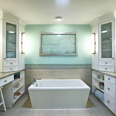 Contemporary Bathroom by Dreamstar Custom Homes