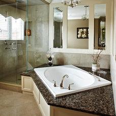Transitional Bathroom by PAULINA'S INTERIOR DESIGN