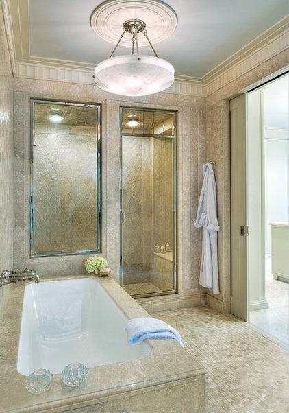 Modern Bathroom by Barnes Vanze Architects, Inc