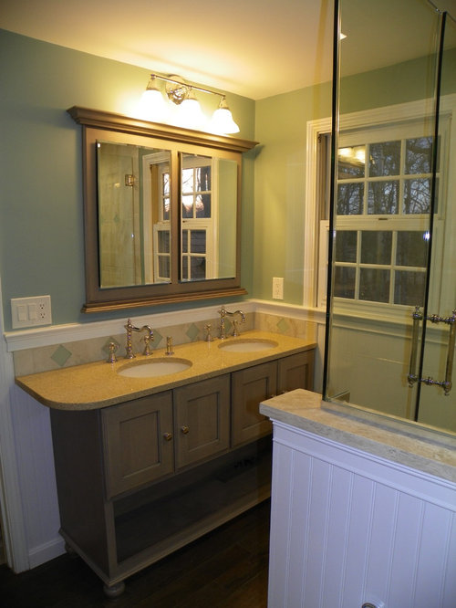 Framed Recessed Medicine Cabinet Home Design Ideas, Pictures, Remodel and Decor
