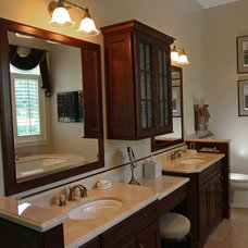Traditional Bathroom by Renovisions, inc.