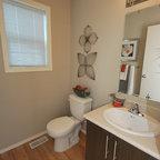 River House Traditional Bathroom Calgary By