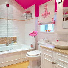 Traditional Bathroom by Tamra Rubin Design