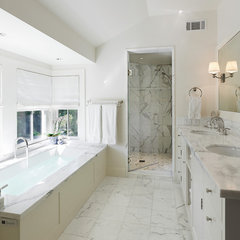 traditional bathroom by Taylor Lombardo Architects