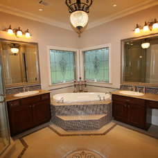 Traditional Bathroom by P.A.S. Interiors, LLC