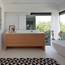 Contemporary Bathroom by Vered Blatman Cohen