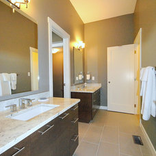 Contemporary Bathroom by Madison Park Homes