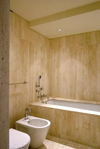 Modern Bathroom by TEK Architects, PC