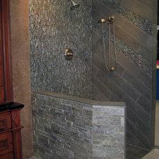 Contemporary Bathroom by Artcraft Granite, Marble & Tile Co.