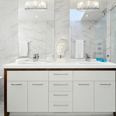 Contemporary Bathroom by Arnal Photography