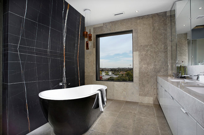 Contemporary Bathroom by Bagnato Architects