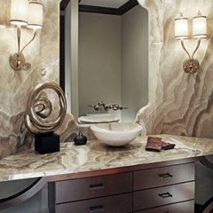 traditional bathroom by D3 Interiors