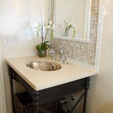 Traditional Bathroom by Heidi Core Interior Design, LLC