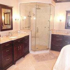 Traditional Bathroom by J.W. Morris Kitchen & Bath
