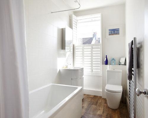Vasca Da Bagno Piccola Per Bambini : Stanza da bagno per bambini con pavimento in laminato foto idee