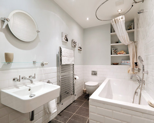 Small bathroom ideas photos for Small family bathroom design