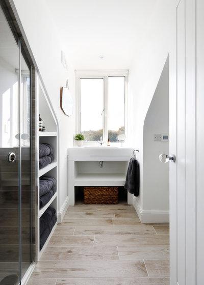Contemporary Bathroom by Emma Wood Photos