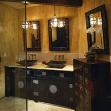 Asian Bathroom by Kari Whitman Interiors, ASID Allied Member