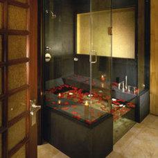 Eclectic Bathroom by Kari Whitman Interiors, ASID Allied Member