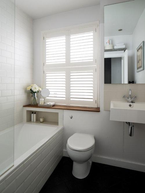 Salle de bain petit budget avec un placard porte for Petit placard salle de bain