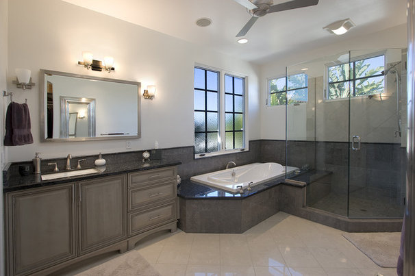 Contemporary Bathroom by Ambience Photography