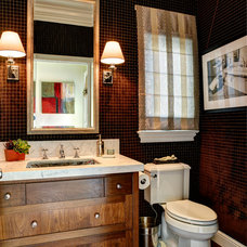 Transitional Bathroom by Artistic Environments, Inc.