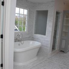 Traditional Bathroom by Gunn Construction & Building Co.