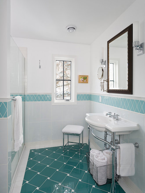 Small bathroom floor tile houzz for Houzz com bathroom tile