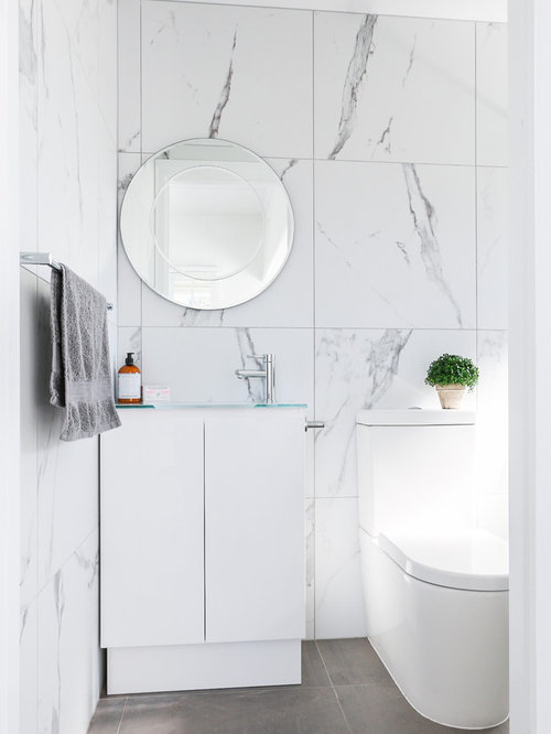 Bathroom Tile Ideas White | Most Popular Bathroom With White Tile Design Ideas Remodeling