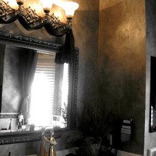 Traditional Bathroom by Patricia Delaney