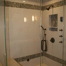 Modern Bathroom by Venture One Design, Inc.