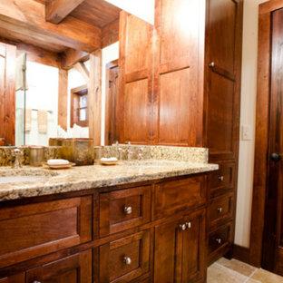 Small Log Cabins Bathroom Ideas Houzz