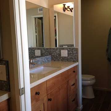 Resort Style Bathroom Remodel in Redlands, CA