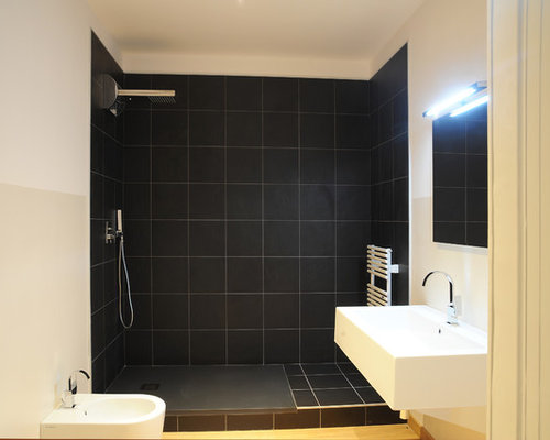 salle d 39 eau moderne avec un bidet photos et id es d co de salles d 39 eau. Black Bedroom Furniture Sets. Home Design Ideas